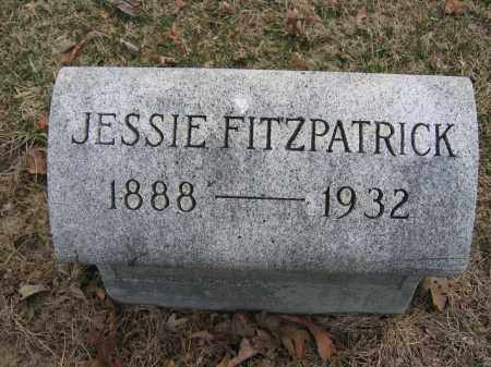 FITZPATRICK, JESSIE - Union County, Ohio | JESSIE FITZPATRICK - Ohio Gravestone Photos