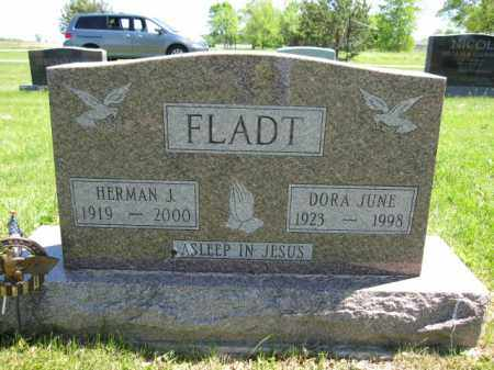 FLADT, DORA JUNE - Union County, Ohio | DORA JUNE FLADT - Ohio Gravestone Photos