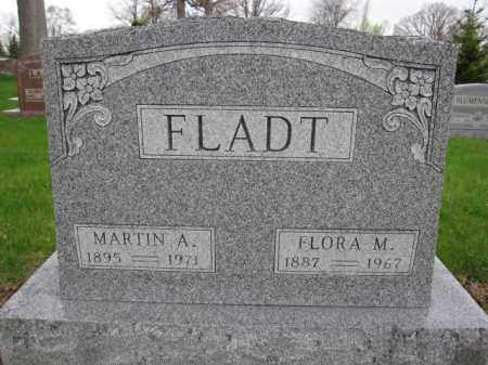 FLADT, FLORA M. - Union County, Ohio | FLORA M. FLADT - Ohio Gravestone Photos