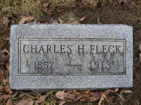 FLECK, CHARLES H. - Union County, Ohio | CHARLES H. FLECK - Ohio Gravestone Photos