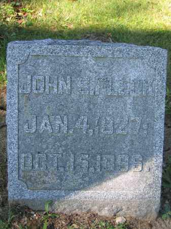 FLECK, JOHN S. - Union County, Ohio | JOHN S. FLECK - Ohio Gravestone Photos