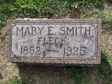 FLECK, MARY E. SMITH - Union County, Ohio | MARY E. SMITH FLECK - Ohio Gravestone Photos