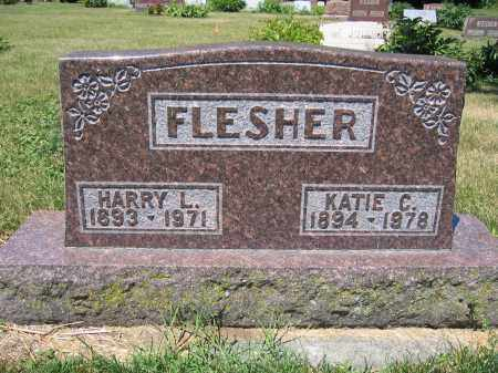 FLESHER, HARRY L. - Union County, Ohio | HARRY L. FLESHER - Ohio Gravestone Photos