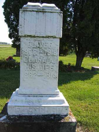 FLETCHER, CLARA A. - Union County, Ohio | CLARA A. FLETCHER - Ohio Gravestone Photos