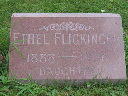 FLICKINGER, ETHEL - Union County, Ohio | ETHEL FLICKINGER - Ohio Gravestone Photos