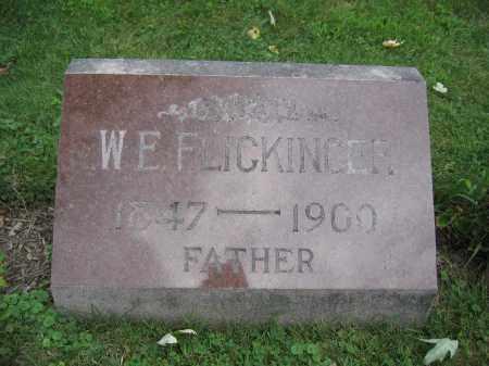 FLICKINGER, W.E. - Union County, Ohio | W.E. FLICKINGER - Ohio Gravestone Photos