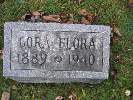 FLORA, CORA - Union County, Ohio | CORA FLORA - Ohio Gravestone Photos