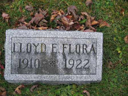 FLORA, LLOYD E. - Union County, Ohio | LLOYD E. FLORA - Ohio Gravestone Photos