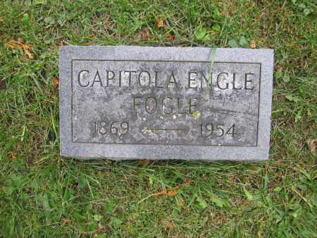 FOGLE, CAPITOLA ENGLE - Union County, Ohio | CAPITOLA ENGLE FOGLE - Ohio Gravestone Photos