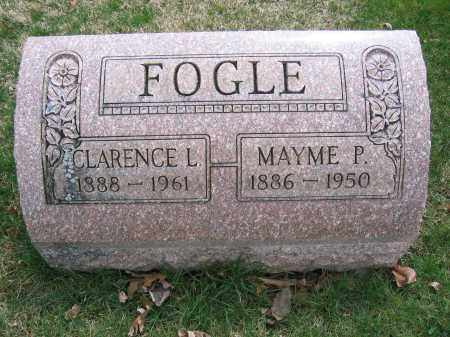 FOGLE, MAYME P. - Union County, Ohio | MAYME P. FOGLE - Ohio Gravestone Photos