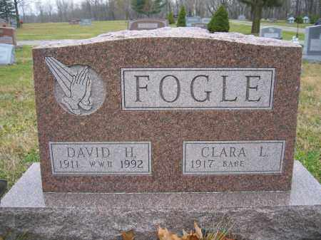 FOGLE, DAVID H. - Union County, Ohio | DAVID H. FOGLE - Ohio Gravestone Photos