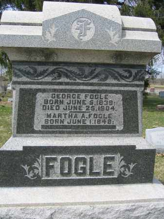 FOGLE, GEORGE - Union County, Ohio | GEORGE FOGLE - Ohio Gravestone Photos