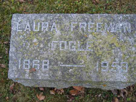 FOGLE, LAURA FREEMAN - Union County, Ohio | LAURA FREEMAN FOGLE - Ohio Gravestone Photos