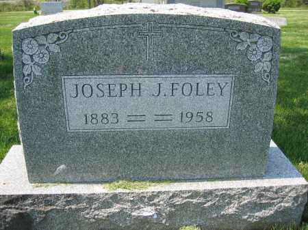 FOLEY, JOSEPH J. - Union County, Ohio | JOSEPH J. FOLEY - Ohio Gravestone Photos