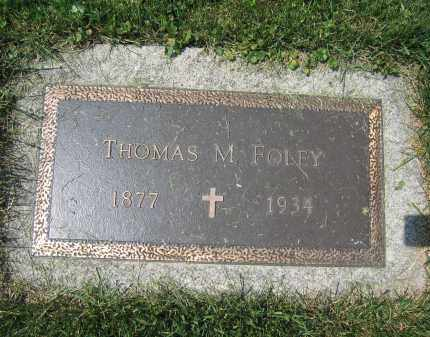 FOLEY, THOMAS M. - Union County, Ohio | THOMAS M. FOLEY - Ohio Gravestone Photos