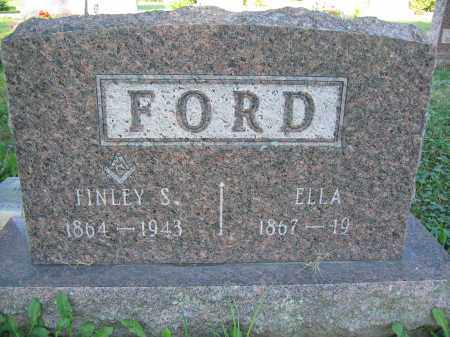 FORD, ELLA - Union County, Ohio | ELLA FORD - Ohio Gravestone Photos
