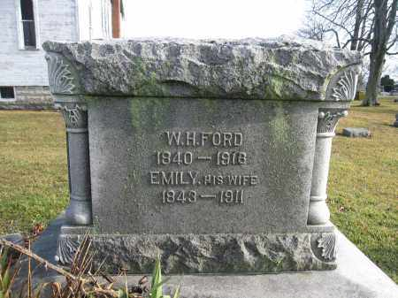 FORD, EMILY HEDGES - Union County, Ohio | EMILY HEDGES FORD - Ohio Gravestone Photos