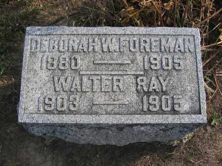FOREMAN, WALTER RAY - Union County, Ohio | WALTER RAY FOREMAN - Ohio Gravestone Photos