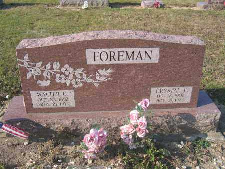 FOREMAN, CRYSTAL F. - Union County, Ohio | CRYSTAL F. FOREMAN - Ohio Gravestone Photos