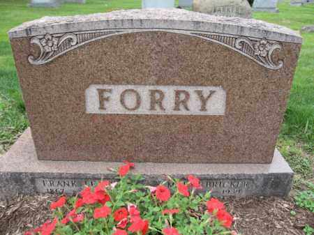 FORRY, FRANK - Union County, Ohio | FRANK FORRY - Ohio Gravestone Photos