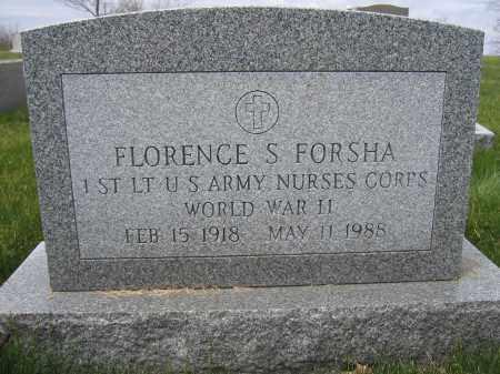 FORSHA, FLORENCE - Union County, Ohio | FLORENCE FORSHA - Ohio Gravestone Photos