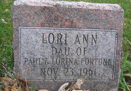 FORTUNE, LORI ANN - Union County, Ohio | LORI ANN FORTUNE - Ohio Gravestone Photos