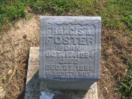 FOSTER, FRANCIS A. - Union County, Ohio | FRANCIS A. FOSTER - Ohio Gravestone Photos
