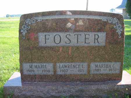 FOSTER, MARTHA C. - Union County, Ohio | MARTHA C. FOSTER - Ohio Gravestone Photos