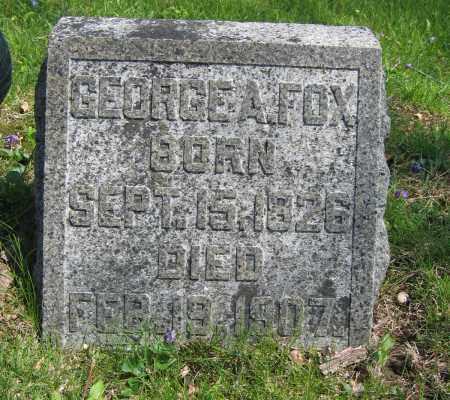 FOX, GEORGE A. - Union County, Ohio | GEORGE A. FOX - Ohio Gravestone Photos
