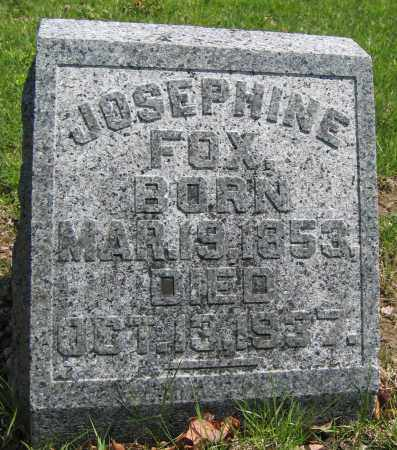 FOX, JOSEPHINE - Union County, Ohio | JOSEPHINE FOX - Ohio Gravestone Photos