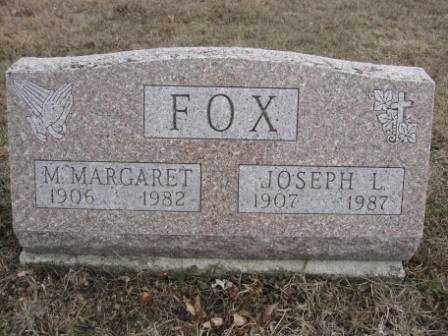 FOX, M. MARGARET - Union County, Ohio | M. MARGARET FOX - Ohio Gravestone Photos