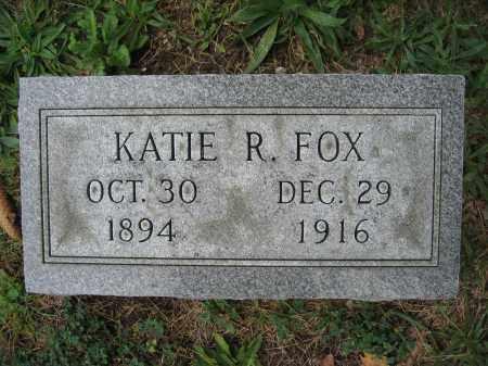 FOX, KATIE R. - Union County, Ohio   KATIE R. FOX - Ohio Gravestone Photos