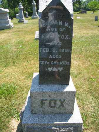 FOX, SUSAN M. - Union County, Ohio | SUSAN M. FOX - Ohio Gravestone Photos