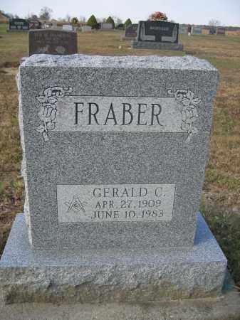 FRABER, GERALD C. - Union County, Ohio | GERALD C. FRABER - Ohio Gravestone Photos
