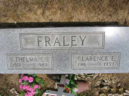 FRALEY, CLARENCE E. - Union County, Ohio | CLARENCE E. FRALEY - Ohio Gravestone Photos