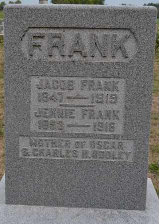 FRANK, JACOB - Union County, Ohio | JACOB FRANK - Ohio Gravestone Photos
