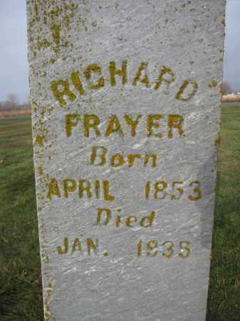 FRAYER, RICHARD - Union County, Ohio | RICHARD FRAYER - Ohio Gravestone Photos