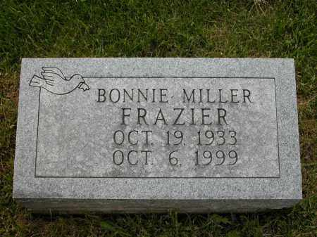 FRAZIER, BONNIE MILLER - Union County, Ohio | BONNIE MILLER FRAZIER - Ohio Gravestone Photos