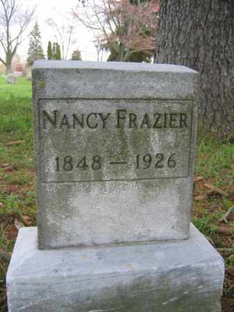 FRAZIER, NANCY - Union County, Ohio | NANCY FRAZIER - Ohio Gravestone Photos