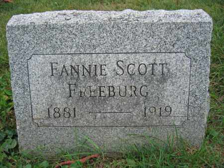 FREEBURG, FANNIE SCOTT - Union County, Ohio | FANNIE SCOTT FREEBURG - Ohio Gravestone Photos