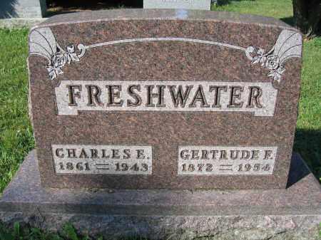FRESHWATER, GERTRUDE F. - Union County, Ohio | GERTRUDE F. FRESHWATER - Ohio Gravestone Photos
