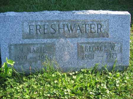 FRESHWATER, M. MARIE - Union County, Ohio | M. MARIE FRESHWATER - Ohio Gravestone Photos