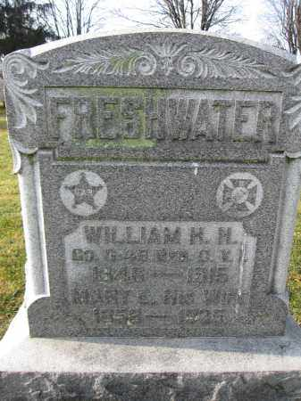 FRESHWATER, WILLIAM H.H. - Union County, Ohio | WILLIAM H.H. FRESHWATER - Ohio Gravestone Photos
