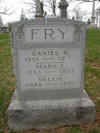 FRY, MARY E. - Union County, Ohio | MARY E. FRY - Ohio Gravestone Photos