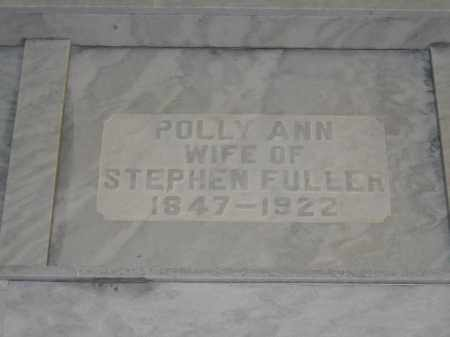 FULLER, POLLY ANN - Union County, Ohio | POLLY ANN FULLER - Ohio Gravestone Photos