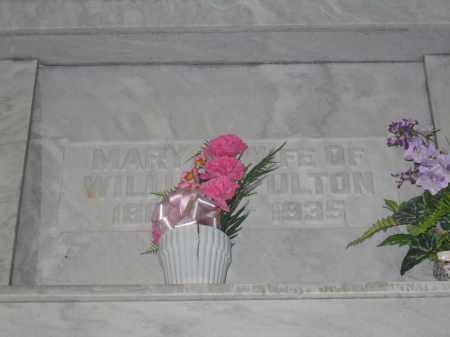 FULTON, MARY - Union County, Ohio | MARY FULTON - Ohio Gravestone Photos