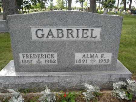 GABRIEL, FREDERICK - Union County, Ohio | FREDERICK GABRIEL - Ohio Gravestone Photos