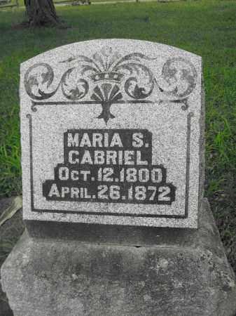 GABRIEL, MARIA S. - Union County, Ohio | MARIA S. GABRIEL - Ohio Gravestone Photos