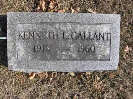 GALLANT, KENNETH L. - Union County, Ohio | KENNETH L. GALLANT - Ohio Gravestone Photos