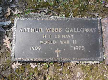 GALLOWAY, ARTHUR WEBB - Union County, Ohio | ARTHUR WEBB GALLOWAY - Ohio Gravestone Photos